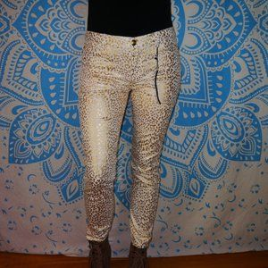 Forever 21 Skinny Ankle 30 x 29 Leopard Jean